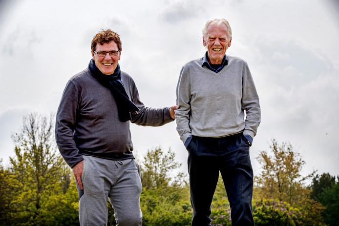 Wim van Hanegem en Leo Beenhakker