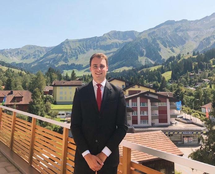 Vanuit Zwitserland schopte Thijs Glaap het zelfs tot master of science.