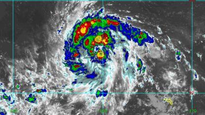 Tropische storm op Stille Oceaan groeit razendsnel uit tot supertyfoon