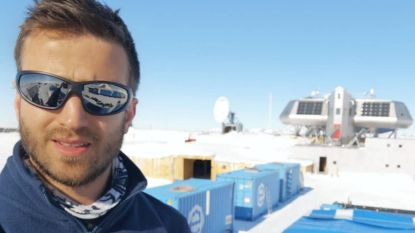 """Guus Luppens (31) - expert duurzame energie- keert na twee maanden terug van Antarctica: """"Alsof je op andere planeet leeft"""""""