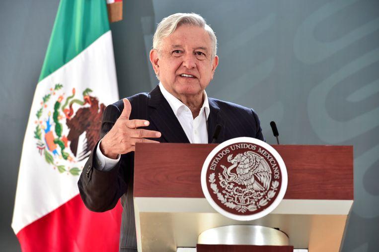 De Mexicaanse president Andrés Manuel López Obrador. Beeld REUTERS