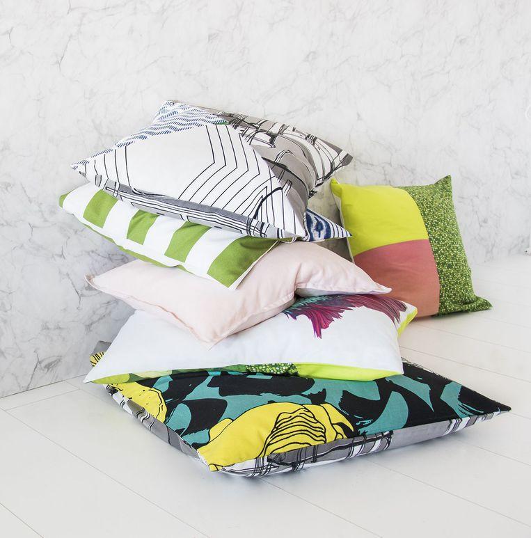 Textielrestanten van Ikea + Beeld
