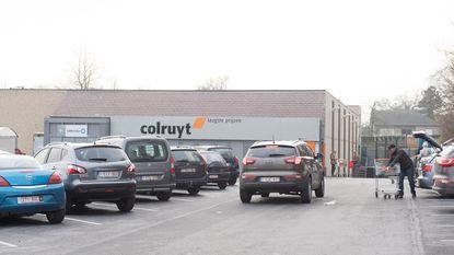 Colruyt bouwt nieuwe winkel op zelfde site