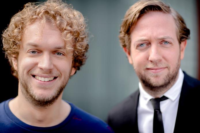Mark van der Molen (links) en Rámon Verkoeijen.