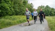 Burgemeester en sportschepen doen de loopschoenen aan om nieuwe stadslooproute in te lopen