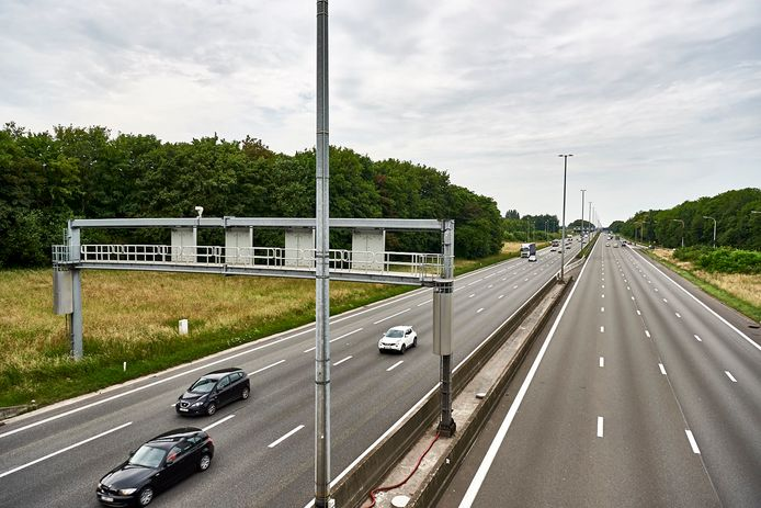 De Oostendenaar werd geklist langs de E40 in Aalter.