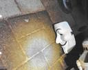 Een van de maskers.