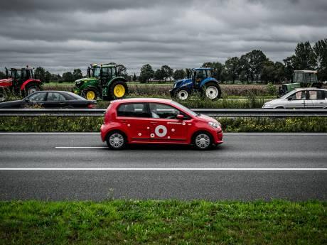 Honderden boeren naar protest in Zwolle: verkeersproblemen niet te voorkomen