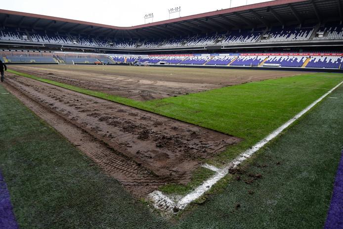 Het Constant Vanden Stock-stadion van Anderlecht.