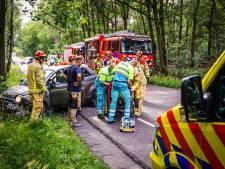 Ernstig ongeval in Son en Breugel: vrouw bekneld in auto