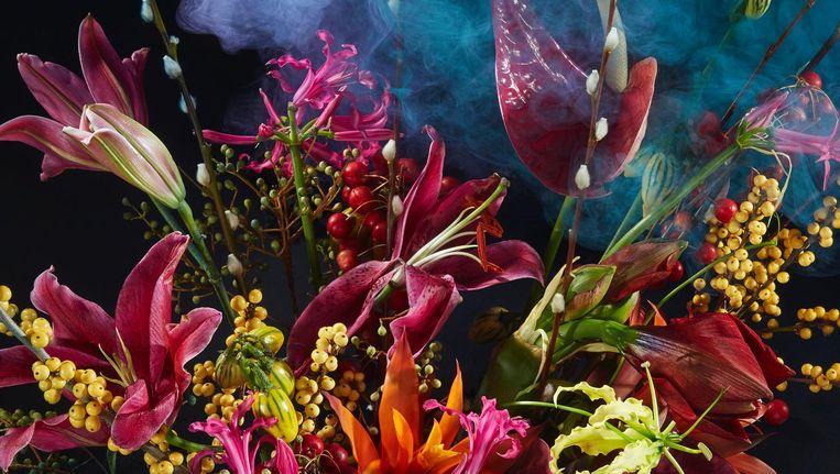 's Zomers bloemen, Rotterdam - Styling: Claartje Lindhout Beeld Rene Mesman