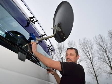 Truckers mogen niet meer slapen langs A12 bij Bodegraven