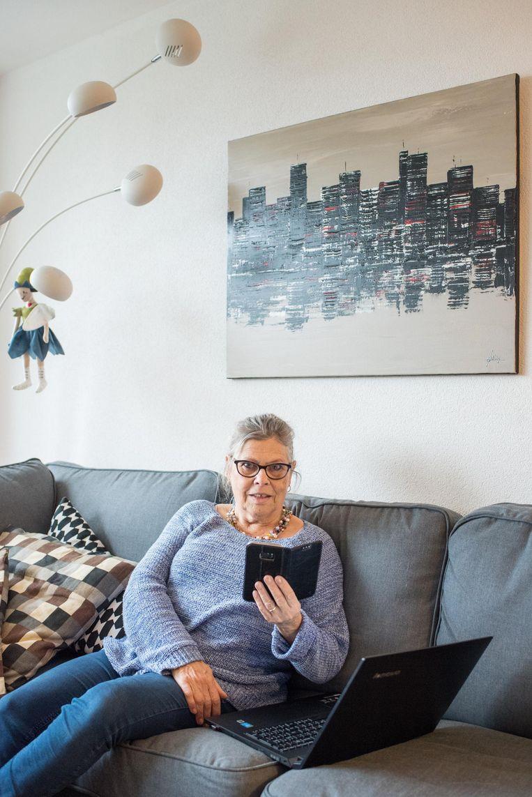 Margo Eggermont (70) Beeld Simon Lenskens