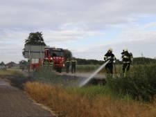 Meerdere bermbranden langs A73 en N272