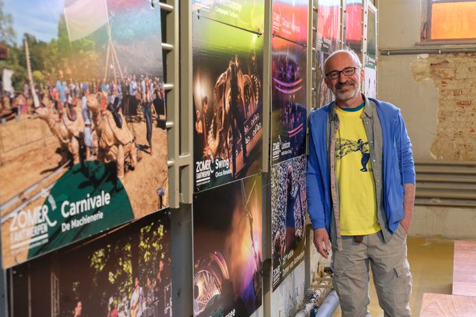Artistiek leider Patrick De Groote