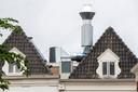De installatie op het dak van Brass Boer Thuis.
