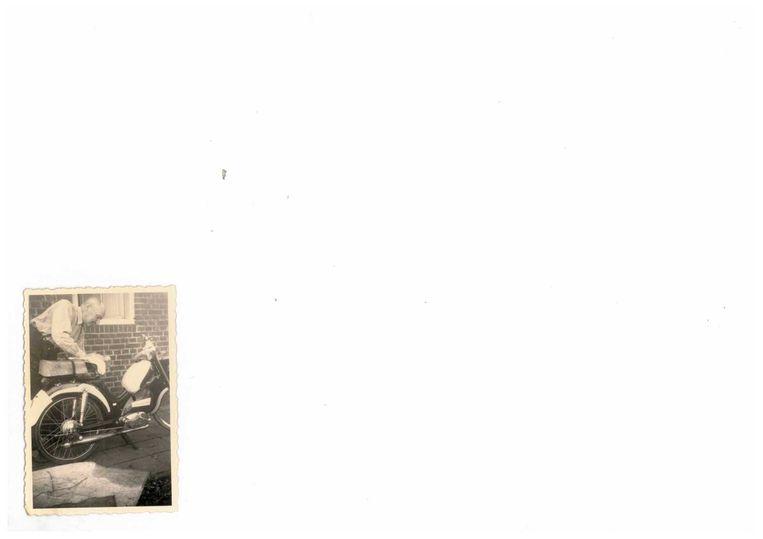 Opa Fransen - vader van vader na de oorlog. Beeld Archief familie Fransen.
