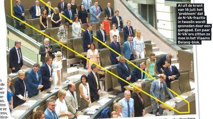 Parlement van zittende zaken: nog altijd geen akkoord over wie waar plaatsje krijgt