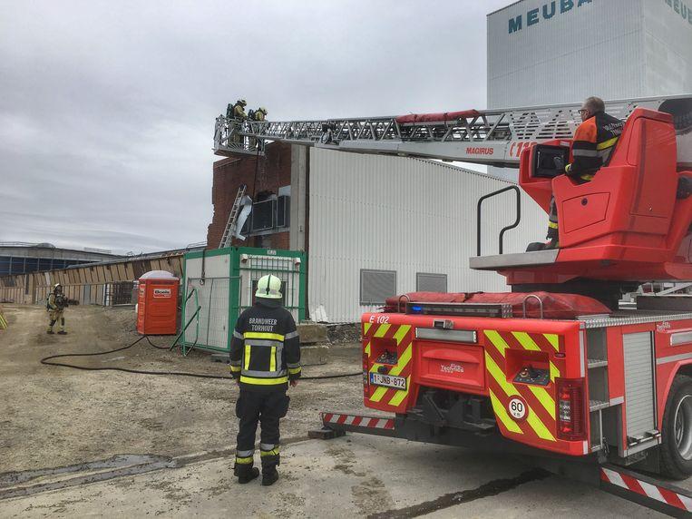De brandweer van Torhout had het brandje snel onder controle.