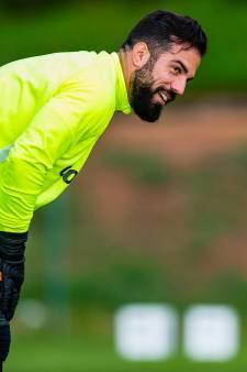Kostas Lamprou laat duidelijk merken dat hij komt voor basisplaats