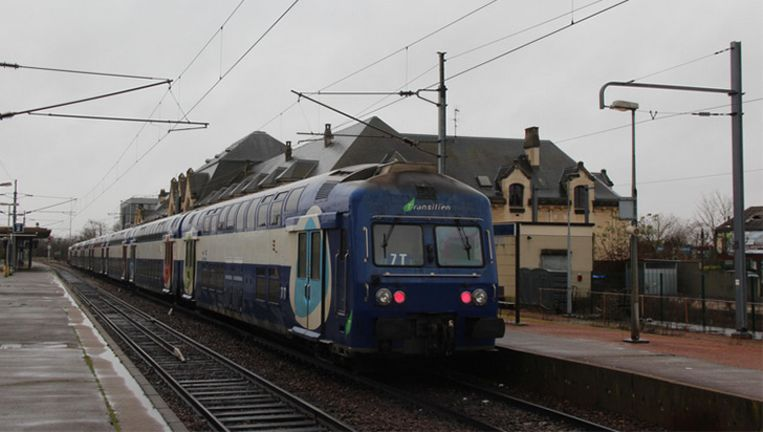 Het station van Houdan