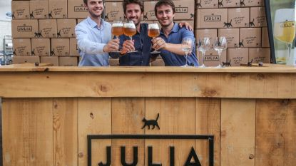 Aperitiefbiertje Julia scoort op Streekbierenfestival