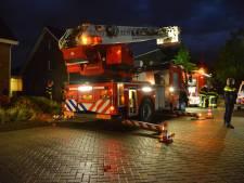 Schoorsteenbrand bij een woning in Etten-Leur
