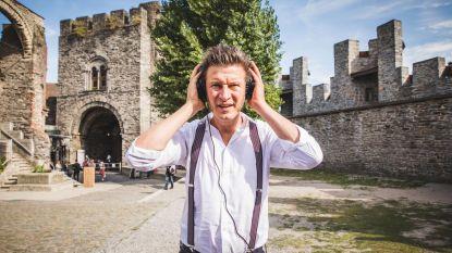 Bezoek het Gravensteen met Wouter Deprez in je oor