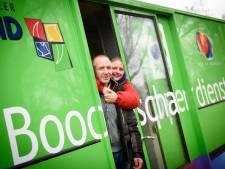 Marco zwerft door Eindhoven in een lege winkel op wielen: 'Ik sta ingeschreven op een stukje bos'