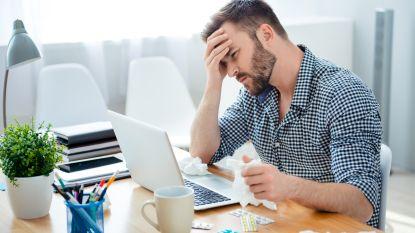 Belgische werknemer was vorig jaar gemiddeld 13 dagen ziek