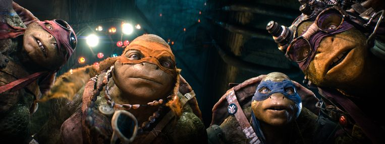 De 'nieuwe' Turtles Beeld ap