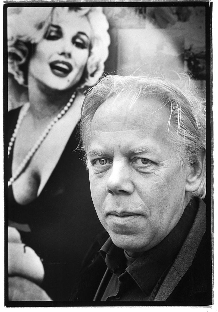 Peter van Bueren in 2002. Beeld null