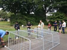 Voetbalcourt voor jongeren op Lidwinaveld in Vught