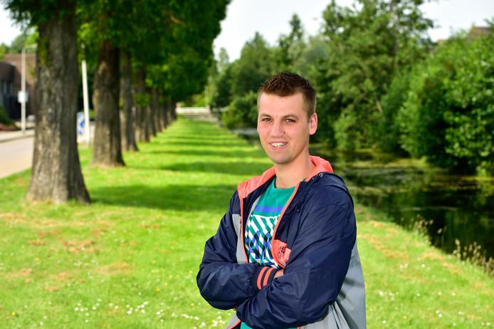 Verdediger Aron Verkleij sluit in het nieuwe seizoen aan bij de selectie van Floreant.