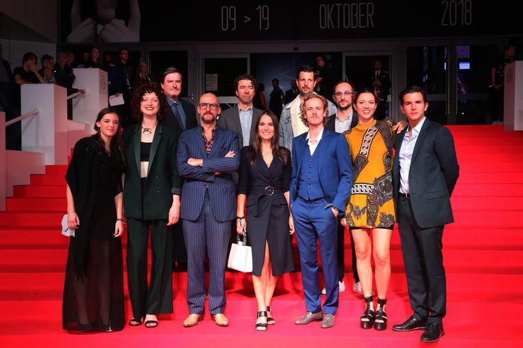Filmfestival Gent, de cast van 'De Bende Van Jan De Lichte'.