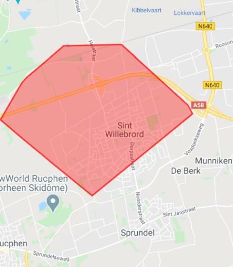 Stroomstoring opgelost: het licht kan weer aan bij 2000 huishoudens in Rucphen, St. Willebrord en Hoeven