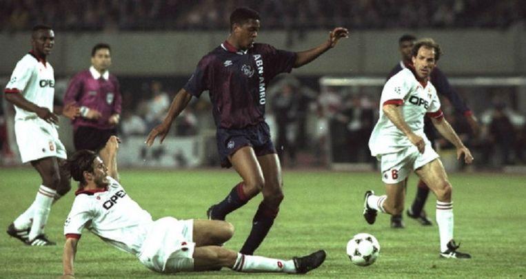 1995: Ajax-AC Milan (1-0). Beeld anp