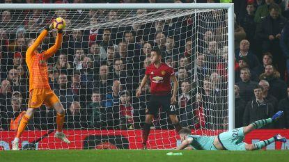 Geen winnaar in boeiende Engelse kraker: De Gea blundert en houdt Arsenal nadien van zege, invalbeurten voor Lukaku en Fellaini