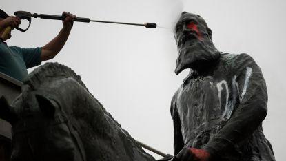"""""""Laat standbeelden Leopold II staan, dan is er tenminste een zichtbare vijand. En iets om te bekladden"""""""