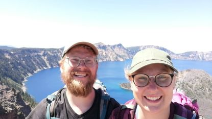 Tot in de VS kennen ze Warmste Week: broer en zus stappen 800 kilometer voor rouwende kinderen