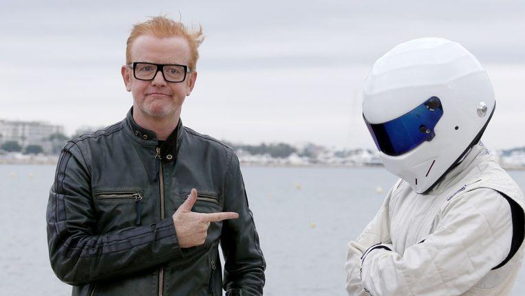 De nieuwe Top Gear-presentator Chris Evans kan volgens The Sun niet praten en rijden tegelijkertijd. Beeld afp