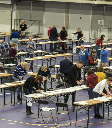 Stemmen tellen in Enschede en Losser als een speer: experiment lijkt geslaagd