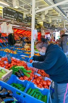 Zaterdagmarkt in Ede gaat door, maar met alleen etenswaren