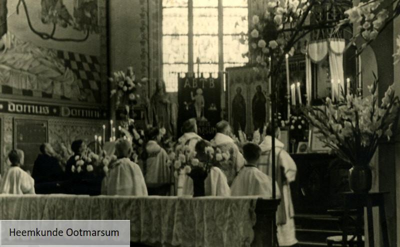 Eerste heilige mis in de Simon en Judaskerk