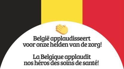 België applaudisseert vanavond om 20 uur voor 'helden van de zorg'