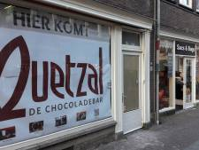 Chocoladebar Wageningen opent later