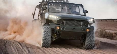 Met deze ruige legerauto gaat de VS brandhaarden blussen