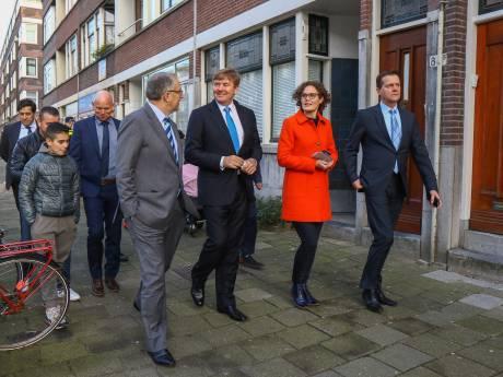 Koning Willem-Alexander bezoekt Rotterdam op uitnodiging Aboutaleb