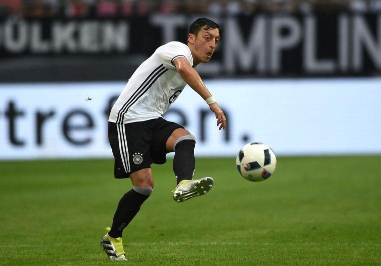 Özil in actie voor het Duitse elftal. Beeld afp