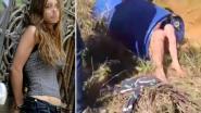 Naakt, in een ton: schrijnende beelden tonen waar moeder van vermoorde Belgische kinderen zich verstopt